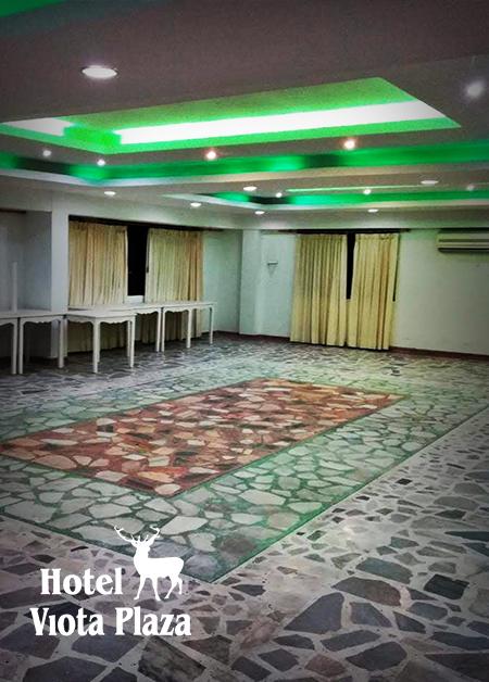 salon para eventos hotel viota plaza
